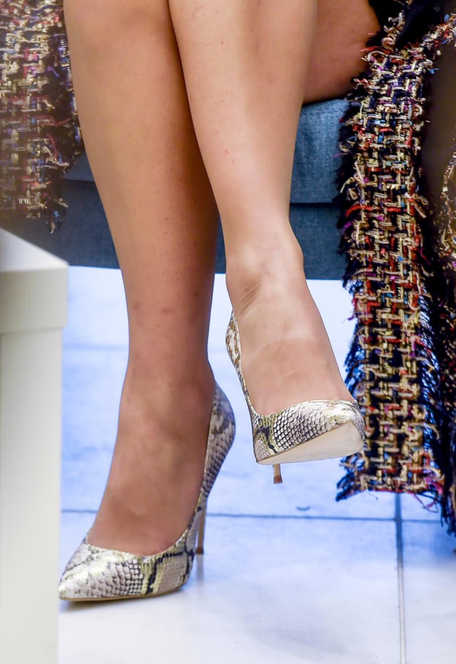 туфли на высоких каблуках Kazar